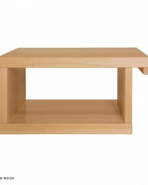 Oranžový stôl Drewmax