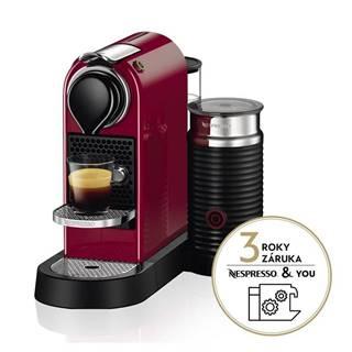 Espresso Krups Nespresso Citiz&Milk XN761510 červen
